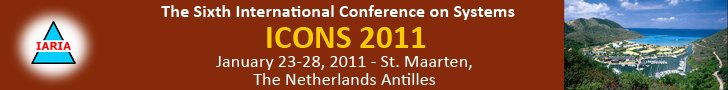 The 6th International Conference on Systems 2011