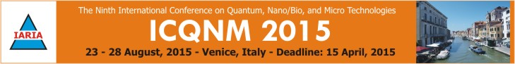 ICQNM 2015 Conference